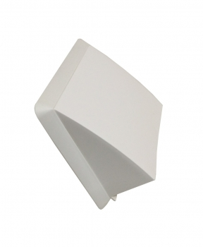 trobak ablufthaube mit r ckstauklappe weiss stutzen dn 150 mm. Black Bedroom Furniture Sets. Home Design Ideas