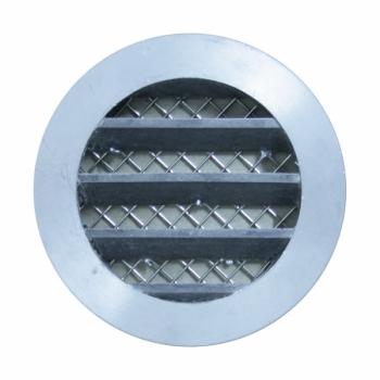 trobak wetterschutzgitter aluminium guss anschluss stutzen dn 80mm. Black Bedroom Furniture Sets. Home Design Ideas