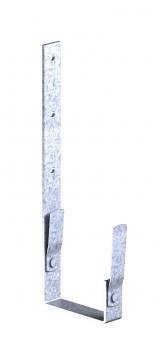 Dachrinnenhalter verzinkt anthrazit Stirnseite f/ür Kastendachrinne NW 68