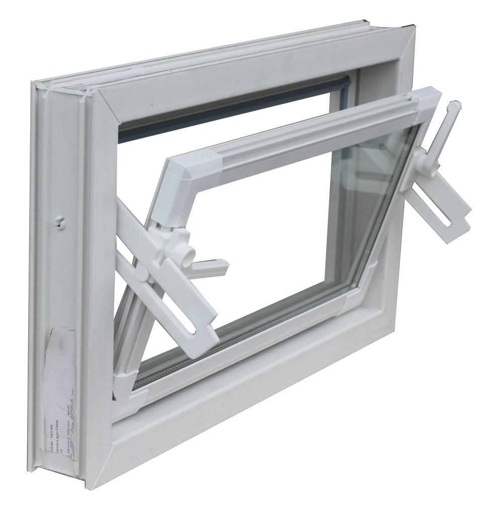 Beliebt TROBAK - Kellerfenster weiss 60x30 cm Einfachverglasung UO22