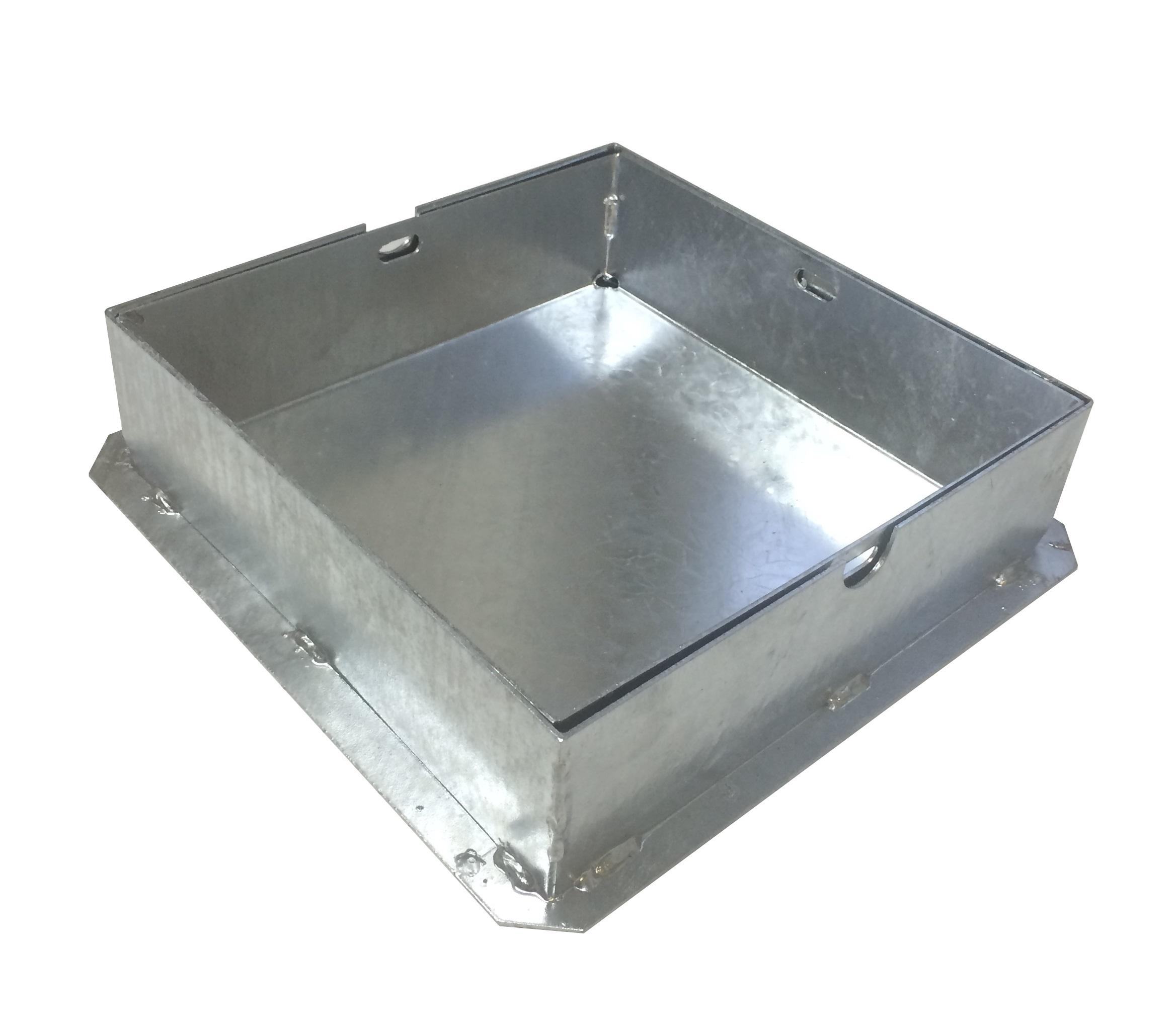 TROBAK - auspflasterbarer Schachtdeckel 60 x 60 cm Bauhöhe 8cm