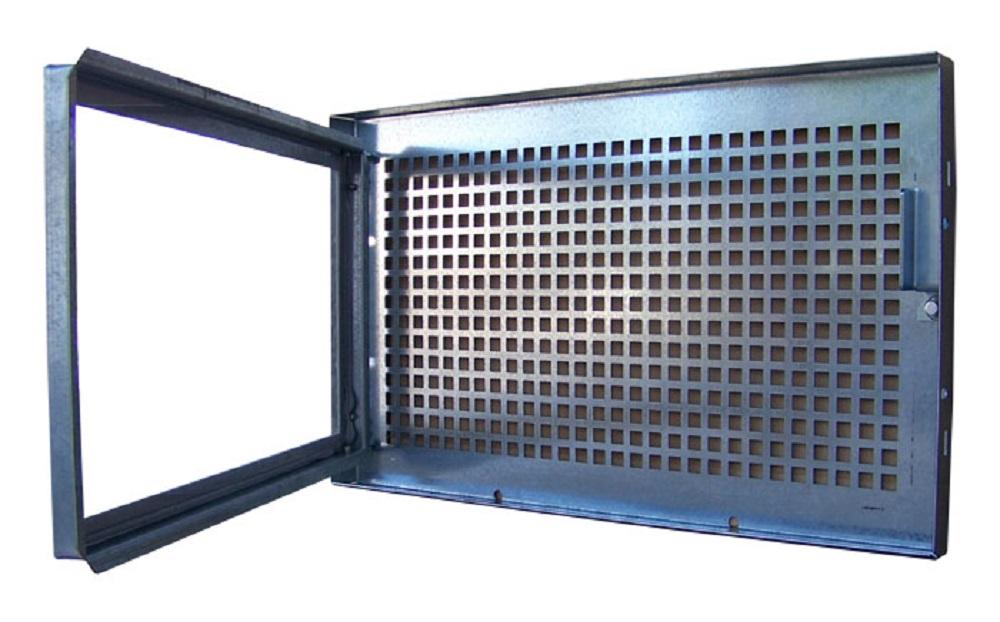 Extrem TROBAK - Stahlkellerfenster, 1-flüglig, festes Gitter, 80 x 30 cm DZ38