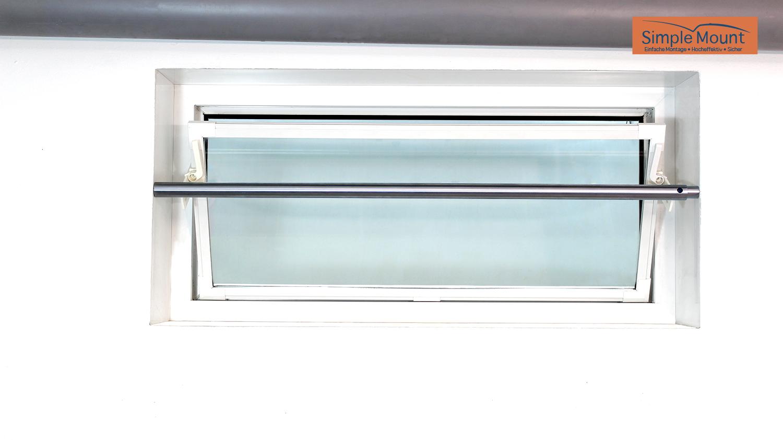 Beliebt TROBAK - Fenstersicherung Simple Mount für Kellerfenster 40 cm Breite YJ54